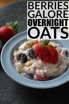 Overnight oats have so many health benefits - they're easier to digest than regular oats, high in fiber, and high in protein, to name a few - and this Berry Galore Overnight Oats recipe is so delicious you'll feel like you're eating dessert for breakfast. Seriously.