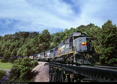RailPictures.Net Photo: SBD 8528 Seaboard System EMD SD50 at East Stone Gap, Virginia by Ron Flanary