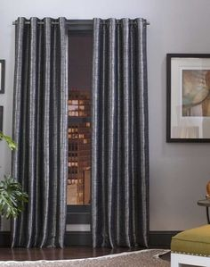 Mercer Textured Grommet Curtain Panel only $40 bucks 43inch curtains