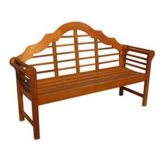 Vifah Roch Eucalyptus Patio Bench-A3458.1130.5.11 at The Home Depot