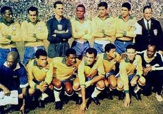 Brasil campeón del mundo en Suecia el 29 de junio de 1958. vence 5 a 2 a Suecia.