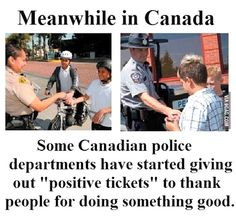 Funny pictures about Good Guy Canadian police. Oh, and cool pics about Good Guy Canadian police. Also, Good Guy Canadian police. Canadian Things, I Am Canadian, Canadian Facts, Canada Funny, Canada Eh, Canada Jokes, Meanwhile In Canada, Moving To Canada, Faith In Humanity Restored