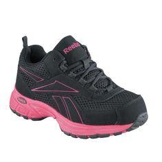 36e721cffa7ccf Athletic Cross Trainer Steel Toe Women Kenoy Reebok RB486 Steel Toe Sneakers,  Wedge Heel Sneakers