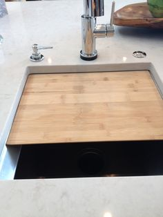 Cutting Board That Fits Your Sink Perfectly!