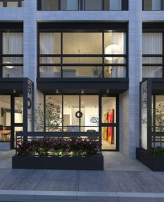 Frontage of a typical Live-Work unit at Duke Condos, image courtesy of TAS