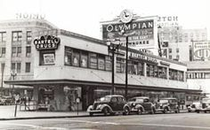 Bartell Drugs triangle store, 401 Pine Street, Seattle, 1937 In 1946 I would