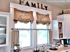 I like the idea of framing the kitchen window