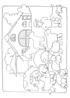 Home Decorating Style 2020 for Dessin D'une Ferme A Colorier, you can see Dessin D'une Ferme A Colorier and more pictures for Home Interior Designing 2020 at Coloriage Kids. Farm Activities, Animal Activities, Creative Activities, Kindergarten Activities, Farm Coloring Pages, Animal Coloring Pages, Coloring For Kids, Fun Facts About Animals, Animal Facts