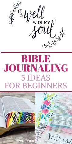 Bible Journaling Guide | 7 Beginner-Friendly Bible Journaling Ideas