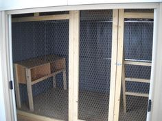 metal shed chicken coop