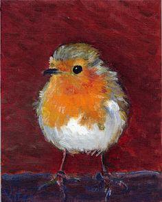 Oiseaux peinture par Vitec