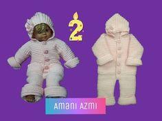 YouTube Crochet Baby, Gloves, Winter, Youtube, Winter Time, Crochet For Baby, Mittens