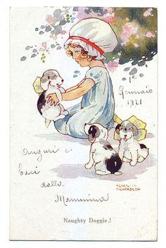Agnes Richardson : Eyedeal Postcards, Vintage Postcards and Figurines Online