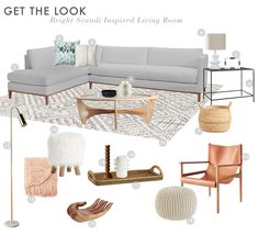 House Tour: A Bright & Warm Scandi-Inspired Home from an EHD Alum (Emily Henderson) Family Room Decorating, Family Room Design, Minimal House Design, Interior Design Layout, Minimalist Decor, Decoration, House Tours, Living Room Decor, Home Decor