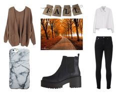 """""""Fall look"""" by yseultdel ❤ liked on Polyvore featuring Yves Saint Laurent, Y's by Yohji Yamamoto, Fall and look"""