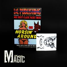 Horsin' Around L&L Nick Trost trick / professional close-up stage street card Magic Tricks products / as seen on TV   http://www.buymagictrick.com/products/horsin-around-ll-nick-trost-trick-professional-close-up-stage-street-card-magic-tricks-products-as-seen-on-tv/  US $5.00  Buy Magic Tricks