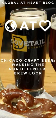 With so many breweries in Chicago, it might actually be hard to find a neighborhood without one at this point. North Center, however, has four, three of which have taprooms (as I'm writing this). And you can visit them all by walking a mere 1.2 miles between the Irving Park and Montrose Brown Line stops.