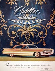 cadillac convertible like this one would be divine!!!!