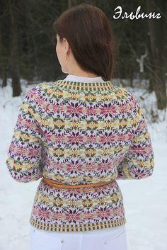 # 30 Bressay / Skara Brae - jacket pattern by Elisabeth Gütschow Ravelry
