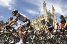Tour De France Cambridge 2014 by Scudamore's Punting Company, via Flickr  www.scudamores.com