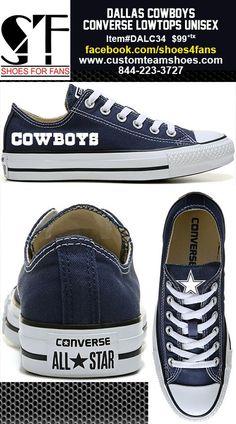 54dbd2405cbac5 Dallas Cowboys Low Top Converse Shoes