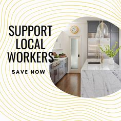 We want to keep our employees working throughout this turbulent period and are offering the best deals of the year to keep them employed. You can help support your local community and at the same time save hundreds or even thousands on a new kitchen. #kitcheninstallation #countertops #kitchenrenovation #countertopsdesign