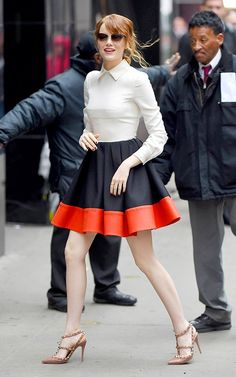 Get the Emma Stone's Valentino look at Good Morning America for less than € 190 - FASHION Mimeo