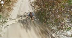 Google Street View Stuck in the African Desert – Looks like this guy went a little too far in the sand.