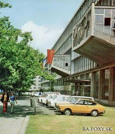 Ostatné - Námestie slobody budova STU - Pohľady na Bratislavu Bratislava, Php, Retro, Rustic