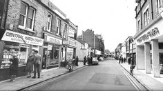 Burleigh Street Cambridge early 1970's