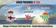 Prediksi Bola Deportivo La Coruna vs Real Betis 14 Februari 2016