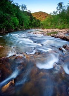 The Buffalo River, Arkansas. Photo by Edward C. Robison III