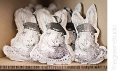 Stuffed printed rabbit by @Marne Mynhardt & @Elouise Trichardt of Mitat, photographed at KAMERS Bloemfontein by @Ria Green via @The Pretty Blog Rabbit, Easter, Printed, Sneakers, Creative, Pretty, Green, Blog, Handmade