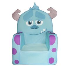 Kids can recreate their favorite moments from Monsters University. view larger Monsters University Sulley Chair Bring home your favorite Monsters Universit Disney Baby Clothes, Baby Disney, Disney Land, Disney Pixar, Baby Boy Rooms, Baby Boy Nurseries, Kids Rooms, Monsters Inc Bedroom, Monster Bedroom