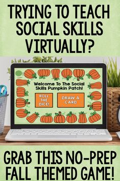 Reviewing social skills with your students this fall? This game can be used in person or during distance learning and will help elementary students review important social skills like manners, social skills in the classroom, responding appropriately to others and social problem solving. This game is perfect for individual or small group school counseling lessons.