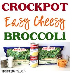 Crockpot Easy Cheesy Broccoli Recipe! ~ from TheFrugalGirls.com ~ this delicious broccoli dish is perfect your for your dinner or holiday sides! #slowcooker #recipes #thefrugalgirls