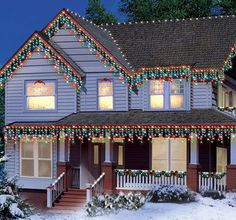 23 Best Multi Colored Christmas Lights Images Christmas Colors