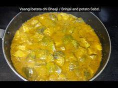 Vangyachi Hiravi Bhaaji - Maharashtra Recipe - YouTube