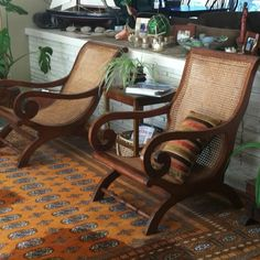 Plantation chairs