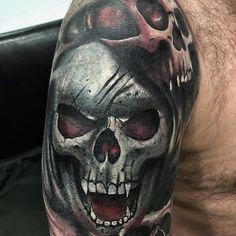 Portrait Tattoos, Girl Tattoos, Tattoo Artwork, First Tattoo, Inked Girls, Istanbul, First Love, Tattoo Designs, Skull