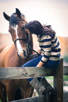 Horses are the best secret keepers :)