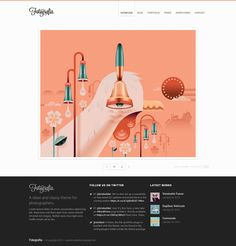 Fotografia is Premium full Responsive Retina #WordPress #Photography Theme. Pinterest Style. #MinimalDesign. SEO Optimized. Test free demo at: http://www.responsivemiracle.com/fotografia-premium-responsive-wordpress-theme-artists/