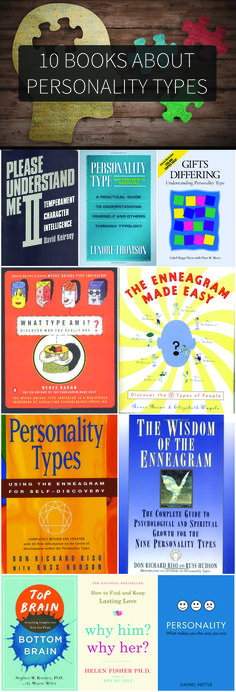 Ever wonder why you are the way you are? Check out these 10 books about personality types to find out!