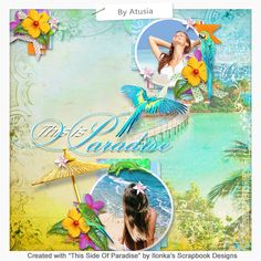 This Side Of Paradise by Ilonka's Scrapbook Designs is Tropical, bright and with gorgeous flowers, Parrots and reptiles.   Now available at: http://www.digiscrapbooking.ch/shop/index.php?main_page=index&manufacturers_id=131&zenid=505e549644797992fb6f20f38872706b  http://digital-crea.fr/shop/?main_page=index&manufacturers_id=177  http://www.godigitalscrapbooking.com/shop/index.php?main_page=index&manufacturers_id=123…