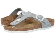 Birkenstock Kids Gizeh (Little Kid/Big Kid) (Magic Galaxy Silver Birko-Flor   ) Girls Shoes