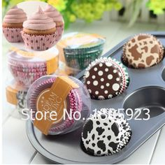 100pcs/lot Paper Cake Cup Mold Cupcake Liners Decorations Mini Muffin Paper Case Chocolate Bake Mold Baking Tools For Cake Tools(China (Mainland))