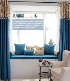飘窗垫定做窗台垫订做加厚田园坐垫高密度海...