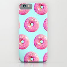 Pink Donut iPhone & iPod Case by Be Wise  - $35.00