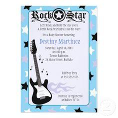 adorable Rocker Invitation