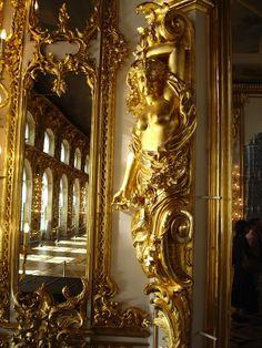 Versailles detail ~ A palace built for Louis XIV near the town of Versailles, southwest of Paris